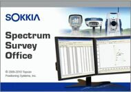 Программное обеспечение Sokkia Spectrum Survey Office